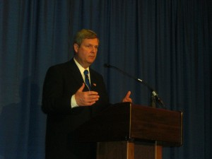 U.S. Ag Secretary Tom Vilsack at 2010 Commodity Classic