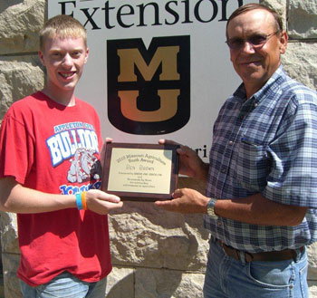 Ben Brown and Al Decker, Extension Livestock Specialist