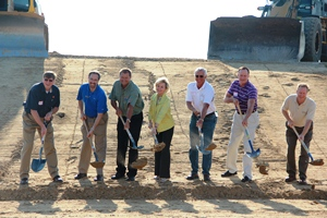 Breaking ground on the Fair Oaks Pig Adventure