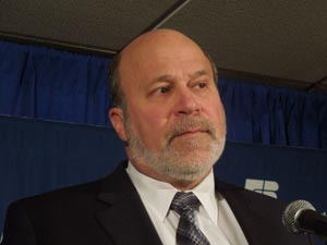 AFBF President Bob Stallman conducts closing news conference, Nashville, Jan 15, 2013.
