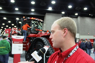 Dan Kline of Case talks about the Steiger Rowtrac.