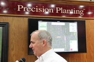 Gregg Sauder of Precision Planting talks technology and innovation.