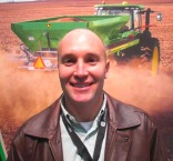 Jarred Karnei, John Deere product marketing manager, AG CONNECT '13