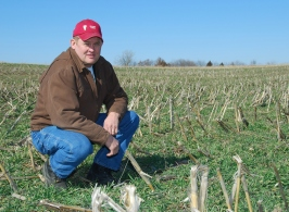 Kenny Reichert, Missouri Farmer, winner of Olin Sims Conservation Leadership Award from NACD