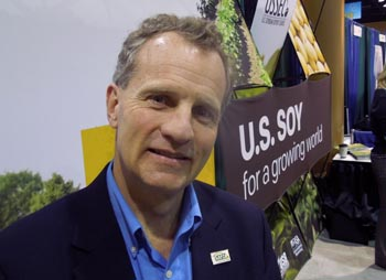 US Soybean Export Council CEO Jim Sutter at Commodity Classic, Kissimmee, Fla., Feb. 28, 2013.