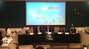BIFAD Board meeting panel discussion at the University of Missouri, Columbia