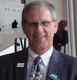 National Farmers Union President Roger Johnson at the NFU annual meeting,  Springfield, Mass., March 4, 2013.