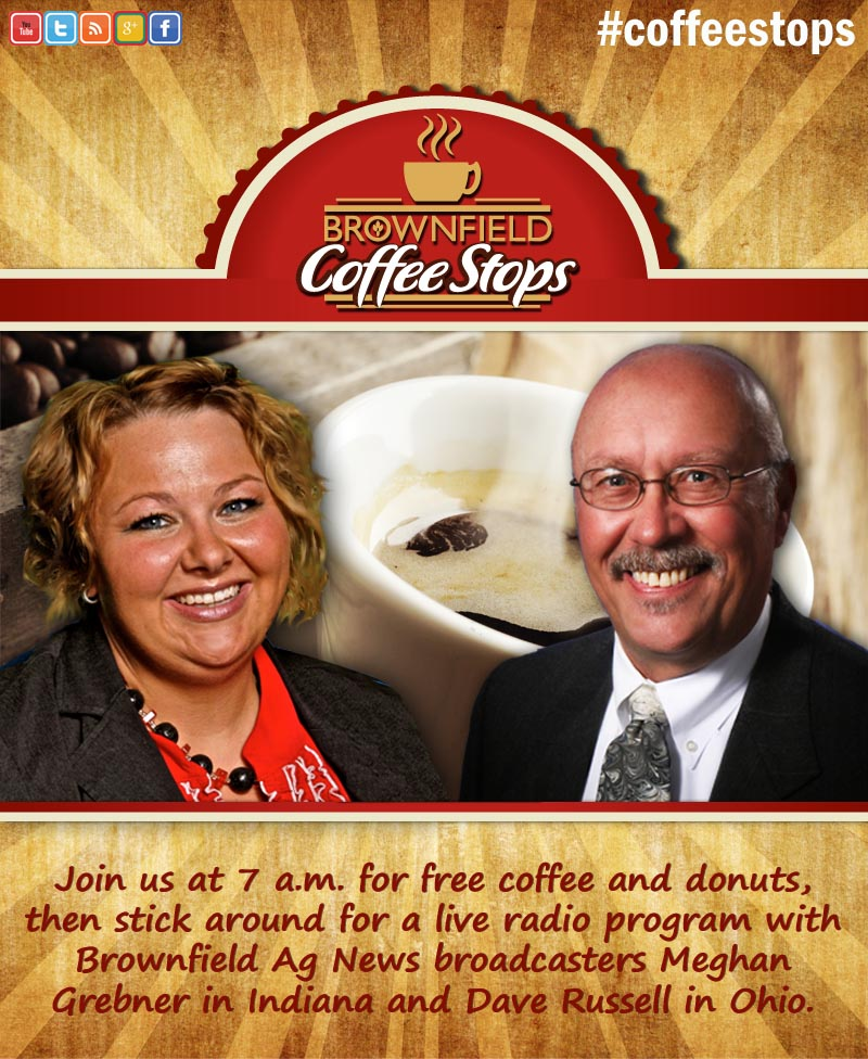 Find out more about Brownfield Coffee Stops in Indiana and Ohio!
