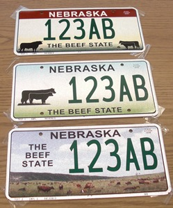 license plates-beef state 6-13