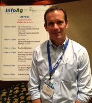 Brian Watkins, Ohio farmer, presenter at InfoAg 2013
