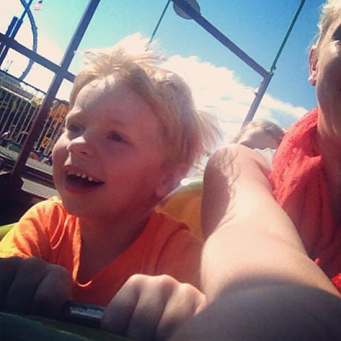 cal on roller coaster 2013