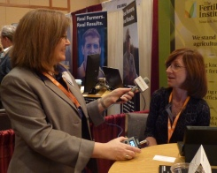 Julie Harker interviews Kathy Mathers of The Fertilizer Institute, 2013 NAFB Trade Talk