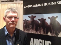 Steve Suther with Certified Angus Beef at 2013 NAFB Trade Talk