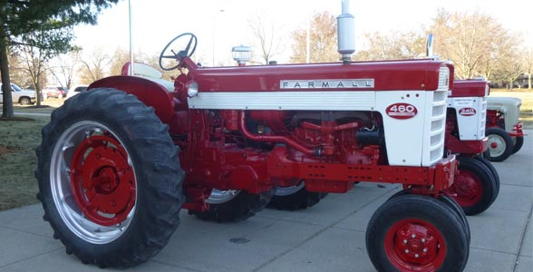 Classic Tractor Winners at the 2013 Missouri Livestock Symposium in Kirksville