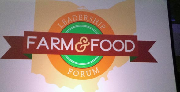 The Ohio Farm and Food Leadership Forum (OFFLF) kicked off the 2013 Ohio Farm Bureau Federation annual meeting.