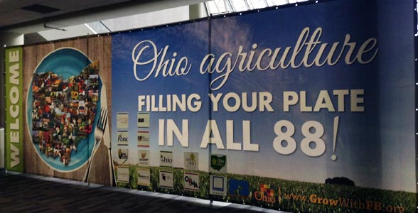 The Ohio Farm Bureau Federation annual meeting is being held in downtown Columbus