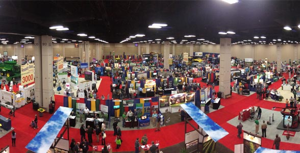 The Commodity Classic Trade Show is big draw.