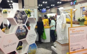 Bee Health Care exhibit
