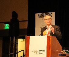 President Roger Johnson kicking off the 112th NFU Annual Mtg. in Santa Fe (2)_web