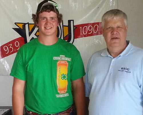Mike Punt, winner of the Brownfield Ag Youth Award