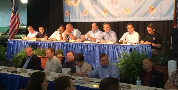 Joint Ohio House/Senate Ag Committee meeting underway at the Ohio State Fair.