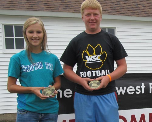 Ag Youth Award Winners in Knox County, Nebraska