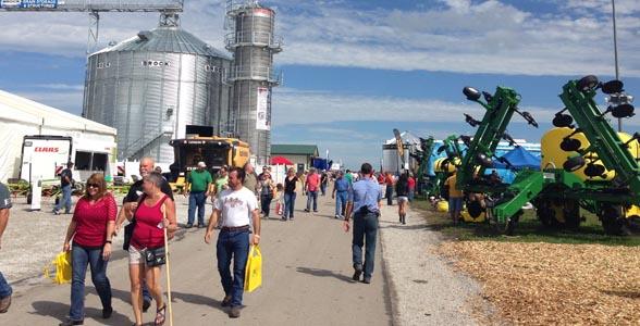 2014 Farm Progress Show in Boone, Iowa