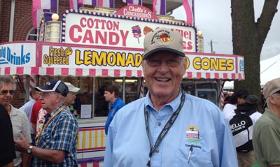 Chairman of the Missouri State Fair Commission, Jack Magruder of Kirksville