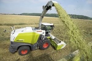 claas 800 series forage harvester 2014