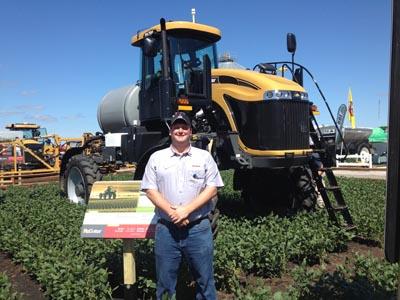 Joe Whorton at 2014 Farm Progress Show