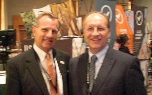 Miller with Wisconsin Ag Secretary Ben Brancel