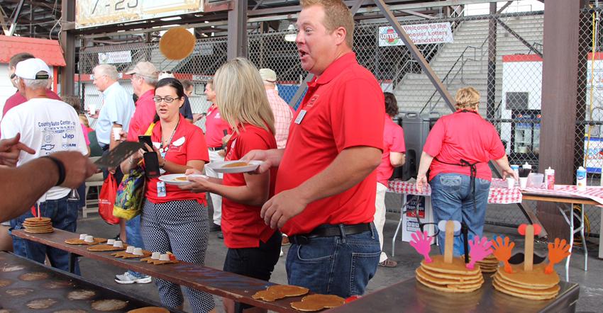 IN State Fair pancakes 15