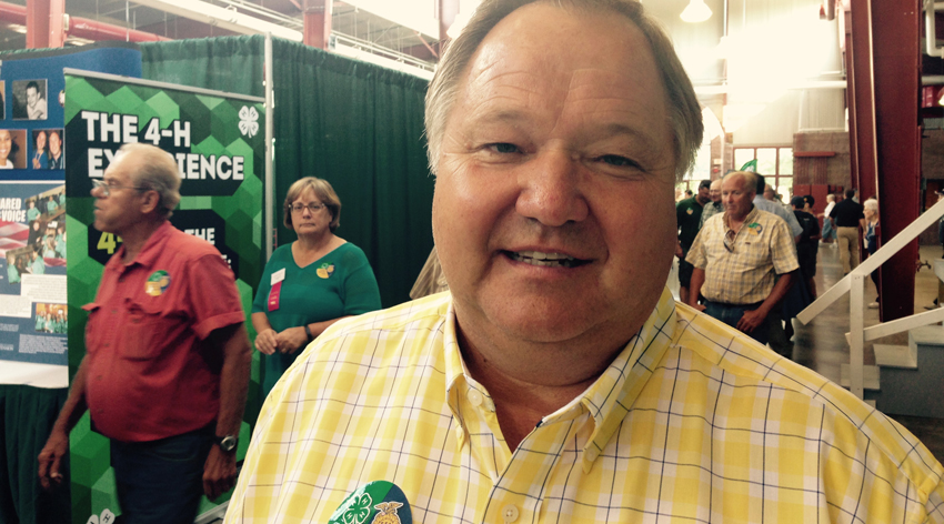 Illinois State Director of Agriculture Phil Nelson at 2015 Illinois State Fair