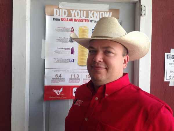 Reid Blossom, Illinois Beef Association Executive Vice President
