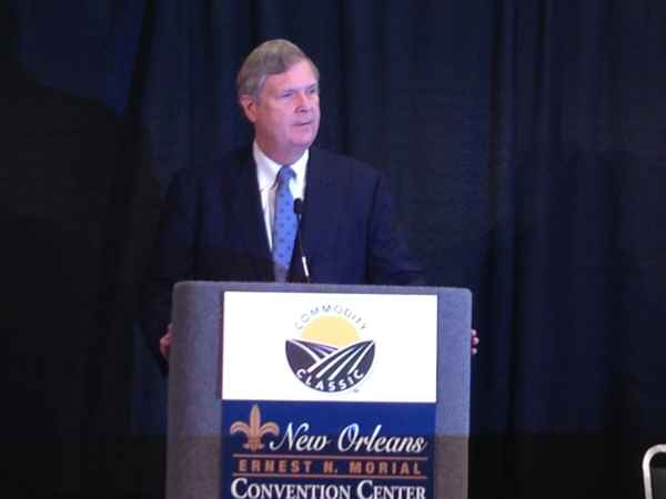 Tom Vilsack 2016 Commodity Classic in New Orleans