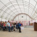 SEMO dedicates indoor cattle feeding building