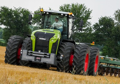 Claas To Introduce New Xerion Tractor Brownfield Ag News